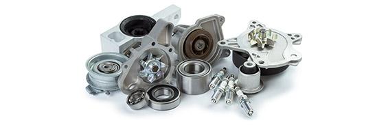 Inicio. recubrimiento metalico de piezas de motor coche