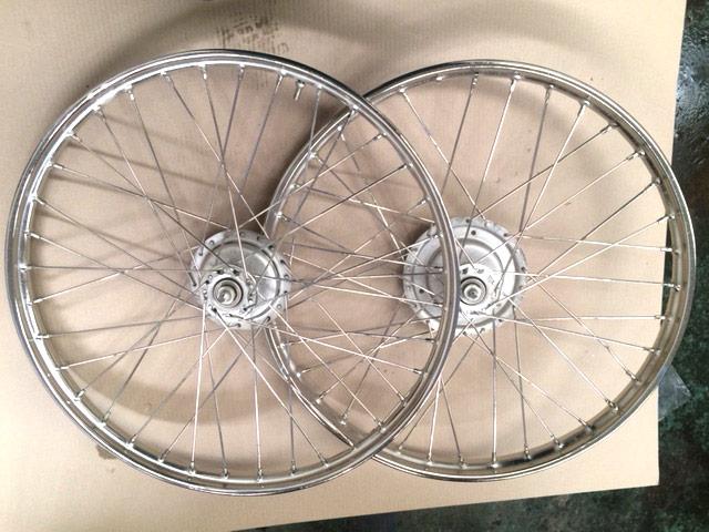 Restauración de piezas de bici antiguas en Zaragoza